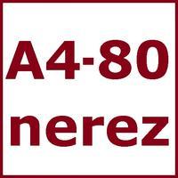 Nerez A4 - 80