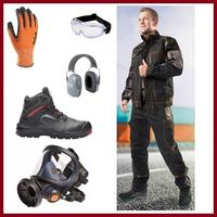 WORK PROTECTIVE EQUIPMENT AND CLOTHING