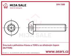 ISO 7380 TORX SEC