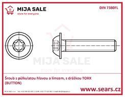 ISO 7380FL TORX