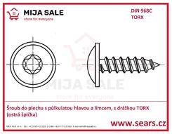 DIN 968C TORX
