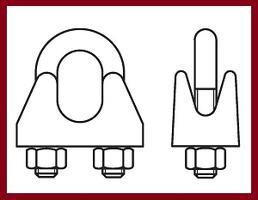 Lanové svorky a očnice