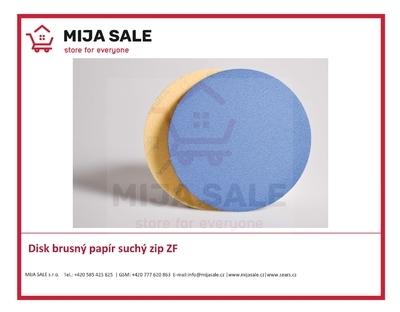 Disk brusný papír suchý zip SAITAC ZF 115 P 80