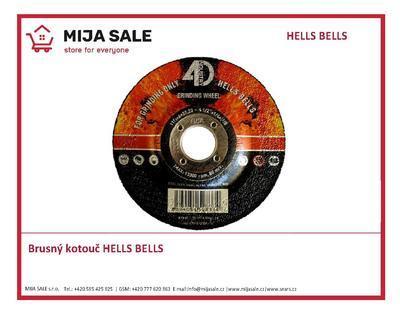 Brusný kotouč 125x6,0x22,2 INOX Hells Bells typ27