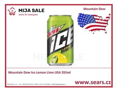 Mountain Dew Ice Lemon Lime USA - 355ml