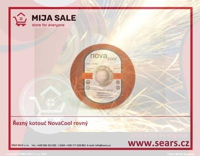 Řezný kotouč NovaCool 115x1,0x22,2 A46T rovný