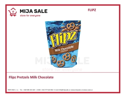 Flipz Pretzels Milk Chocolate 90g