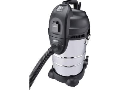 EXTOL - vysavač dílenský, multifunkční se zásuvkou a funkcí čištění filtru, 30l, 6m kabel - 2