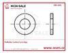DIN 1441 - P  9 - ocel - zinek bílý - Podložka kruhová pro čepy