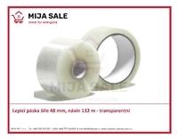 """Lepicí páska novaTAPE 1"""" šíře 48 mm,  návin 132 m - transparentní"""